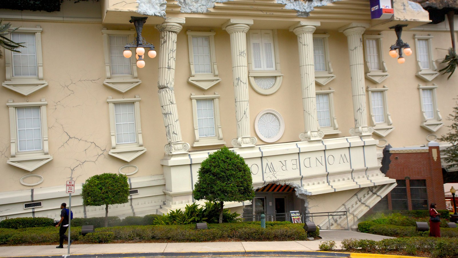 Wonderworks which includes heritage architecture