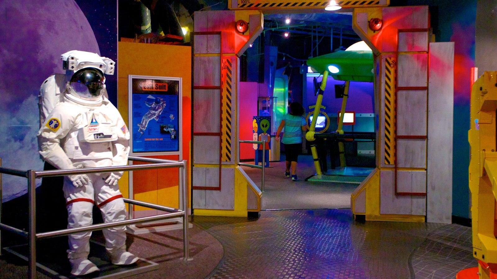 Wonderworks showing interior views