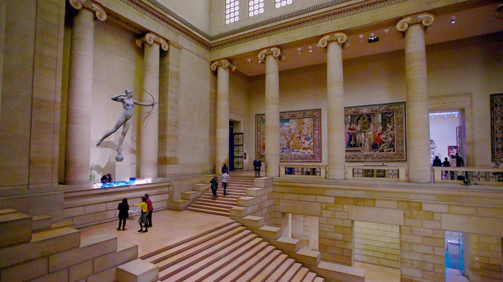 Museu de Arte caracterizando vistas internas e arquitetura de patrimônio