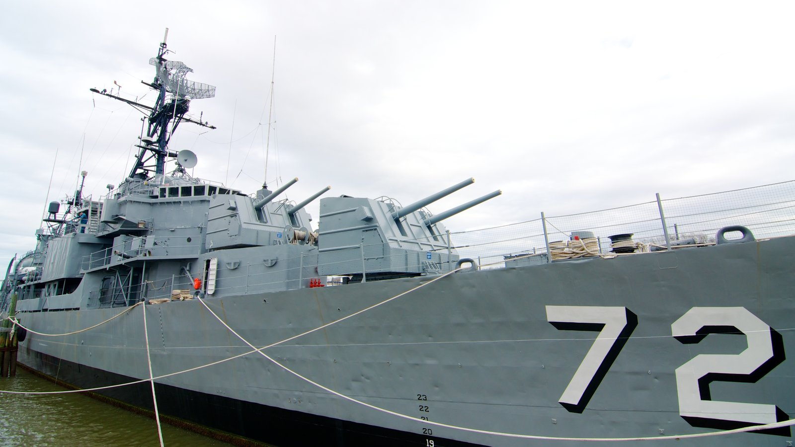 Patriots Point Naval and Maritime Museum que inclui itens militares