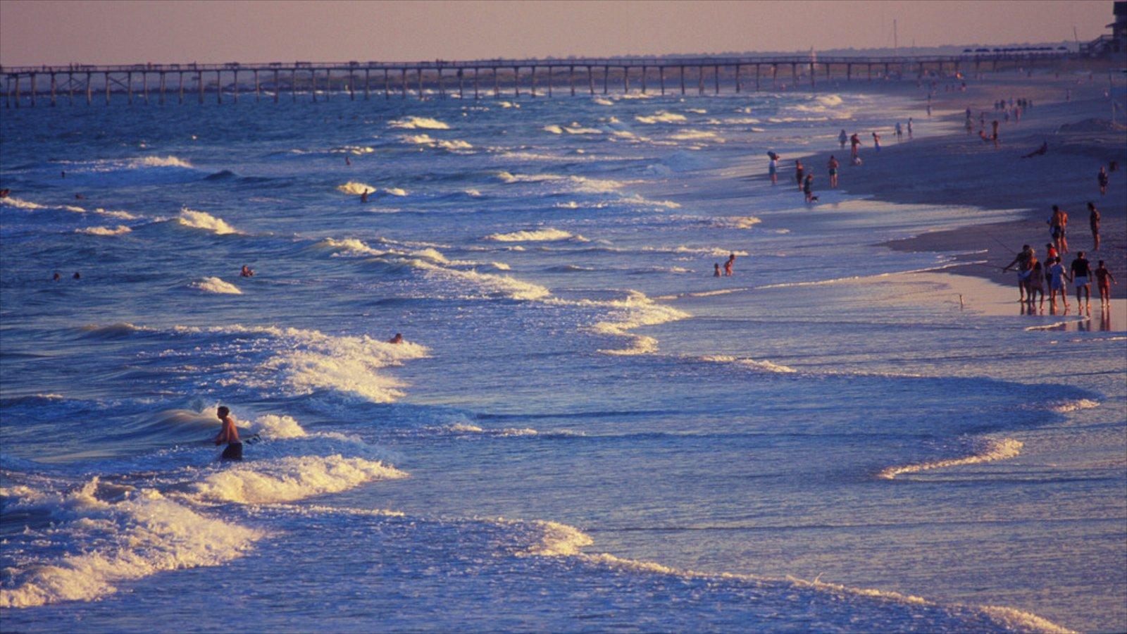 Wrightsville Beach featuring general coastal views, a beach and surf