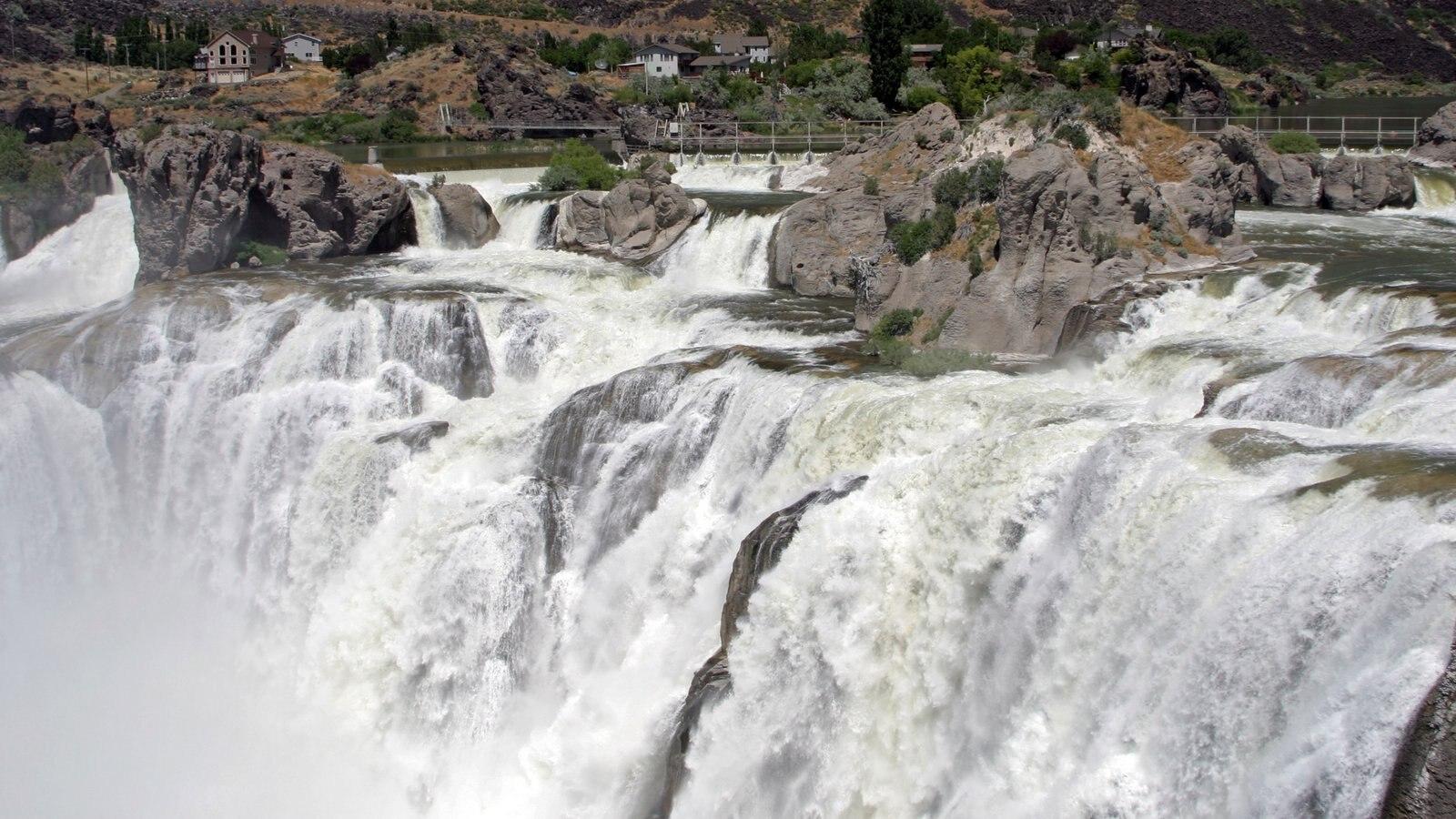 Idaho caracterizando uma cascata