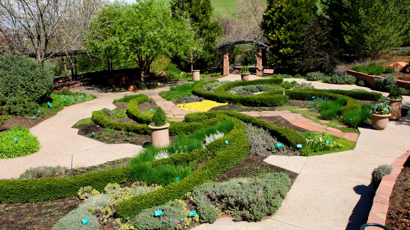 Red Butte Garden and Arboreteum which includes a garden