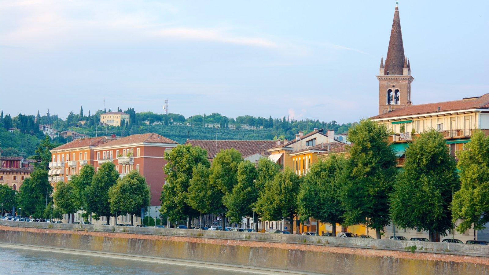 Verona showing a river or creek