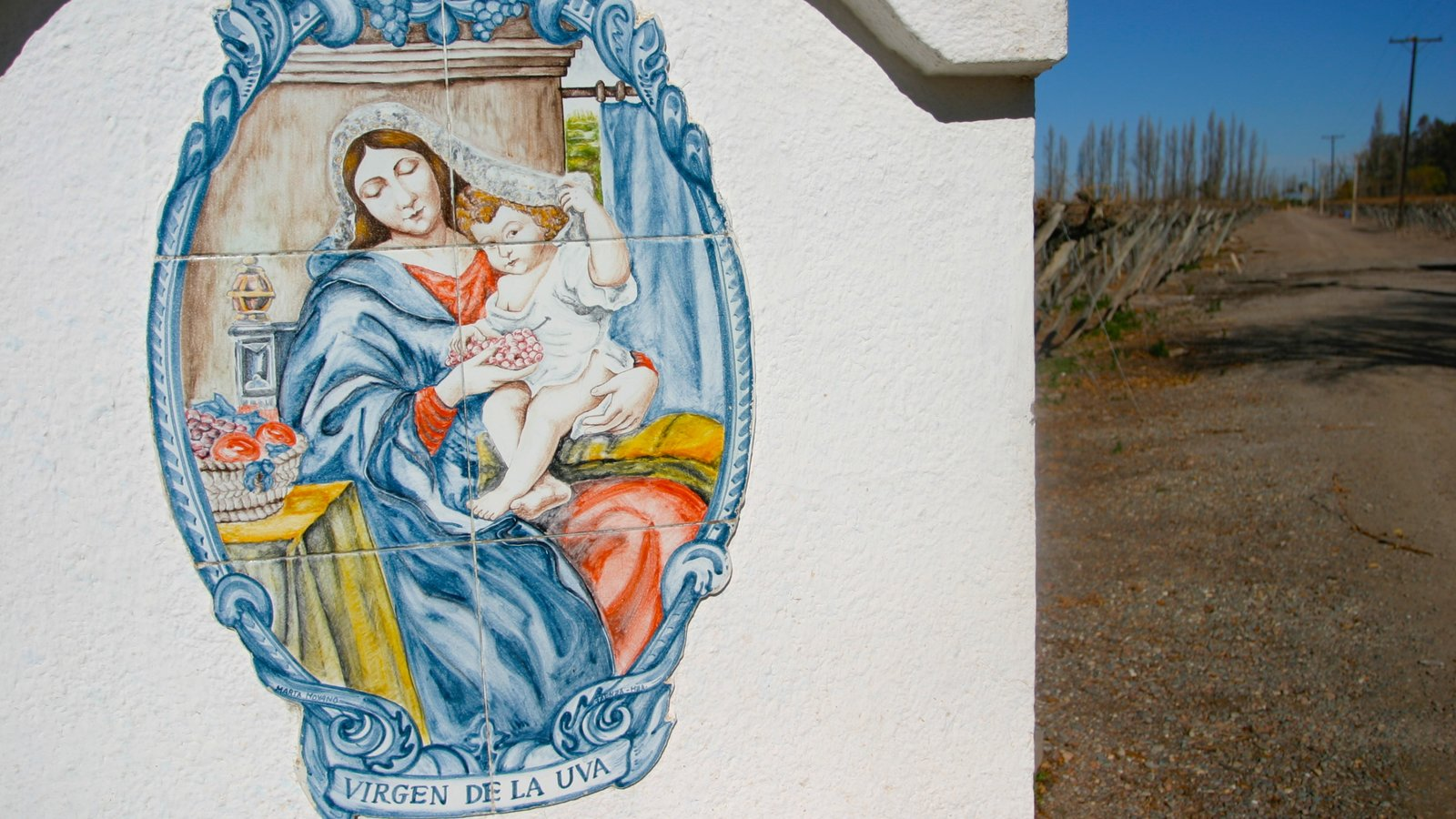 Região Vinícola de Mendoza que inclui arte ao ar livre