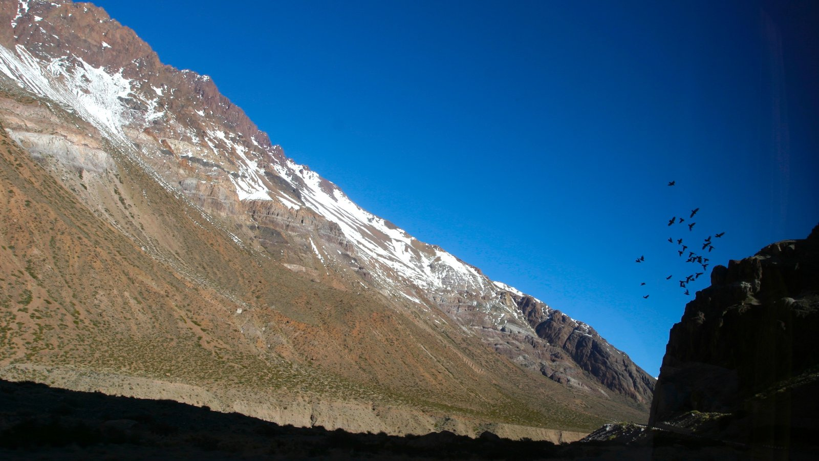 Região Vinícola de Mendoza que inclui montanhas