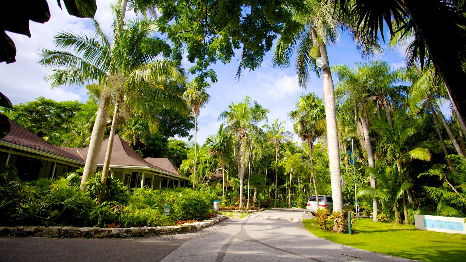 The Retreat Garden National Park Featuring A House, A Garden And Tropical  Scenes