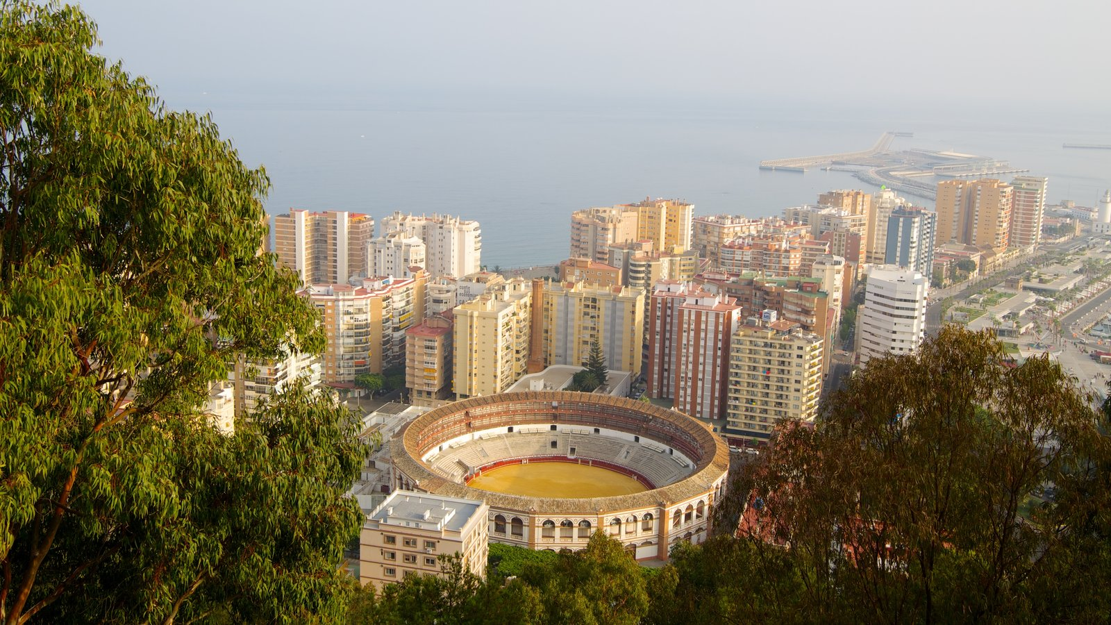 Malaga which includes a city