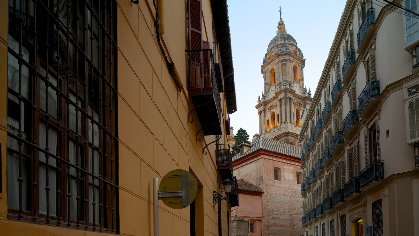 Malaga Cathedral showing a church or cathedral, religious elements and heritage architecture