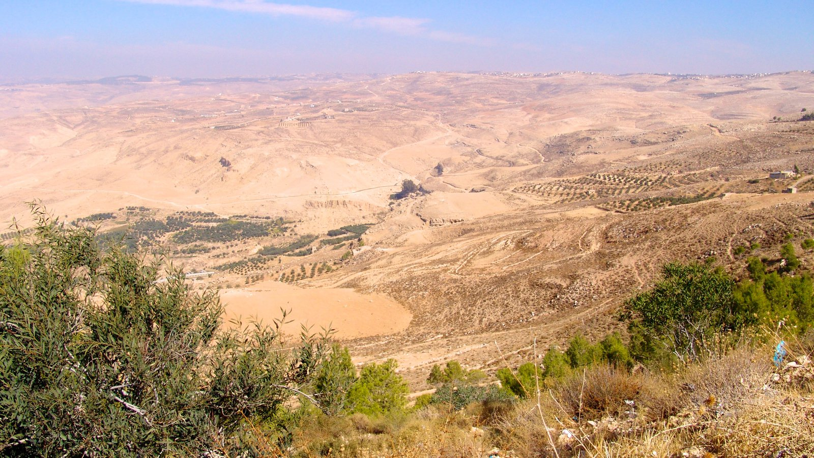 Mount Nebo which includes landscape views and desert views