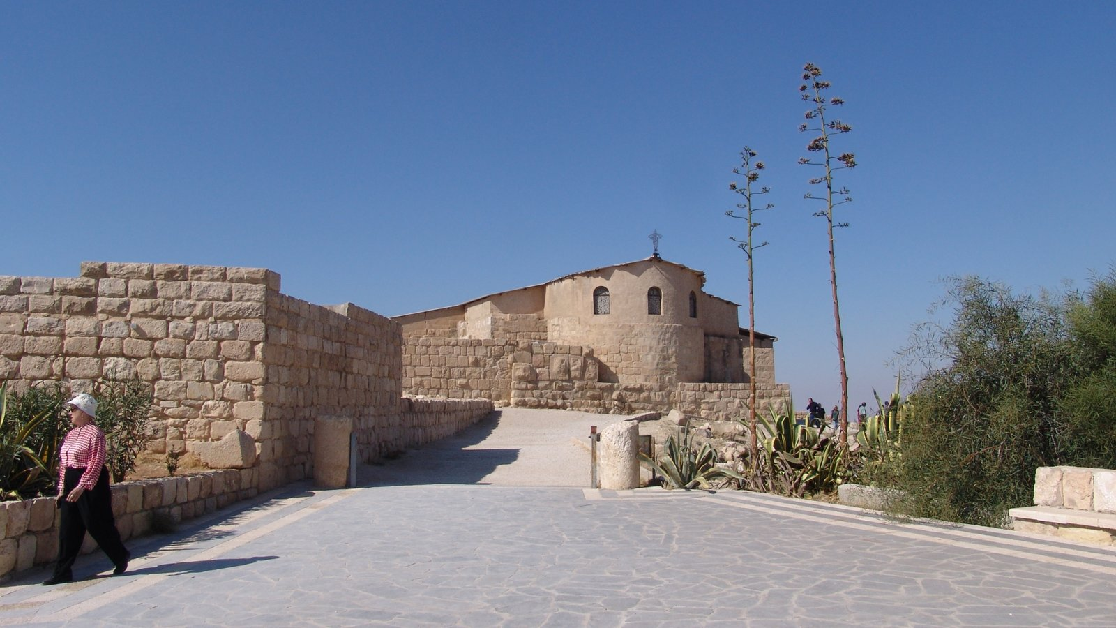 Mount Nebo which includes a church or cathedral and heritage architecture as well as an individual femail