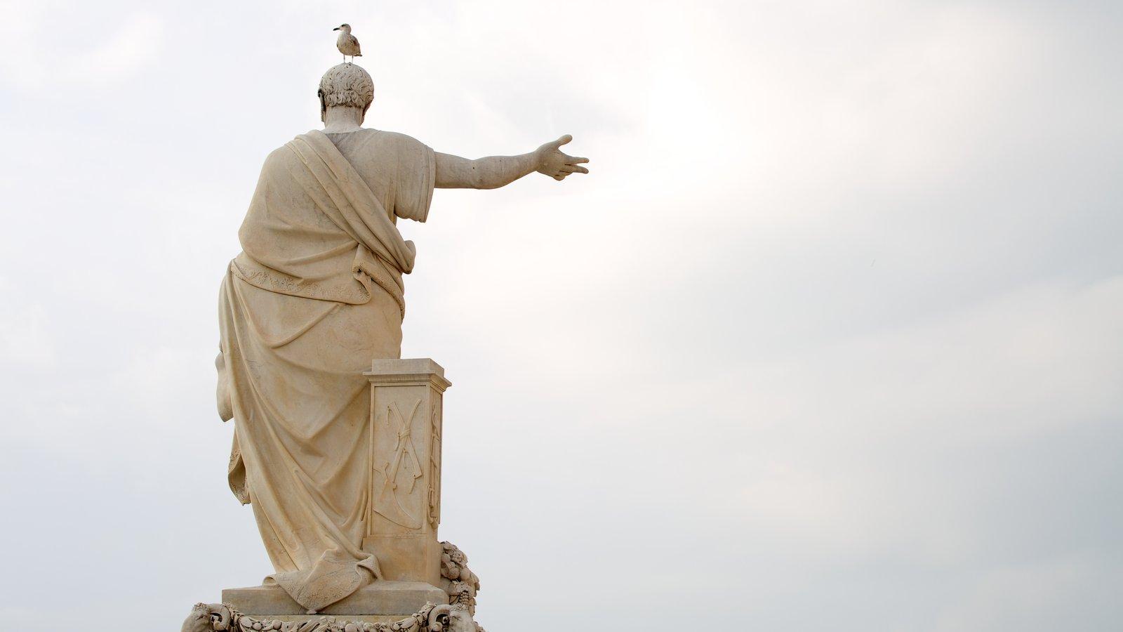 Piazza della Repubblica featuring outdoor art, a statue or sculpture and art