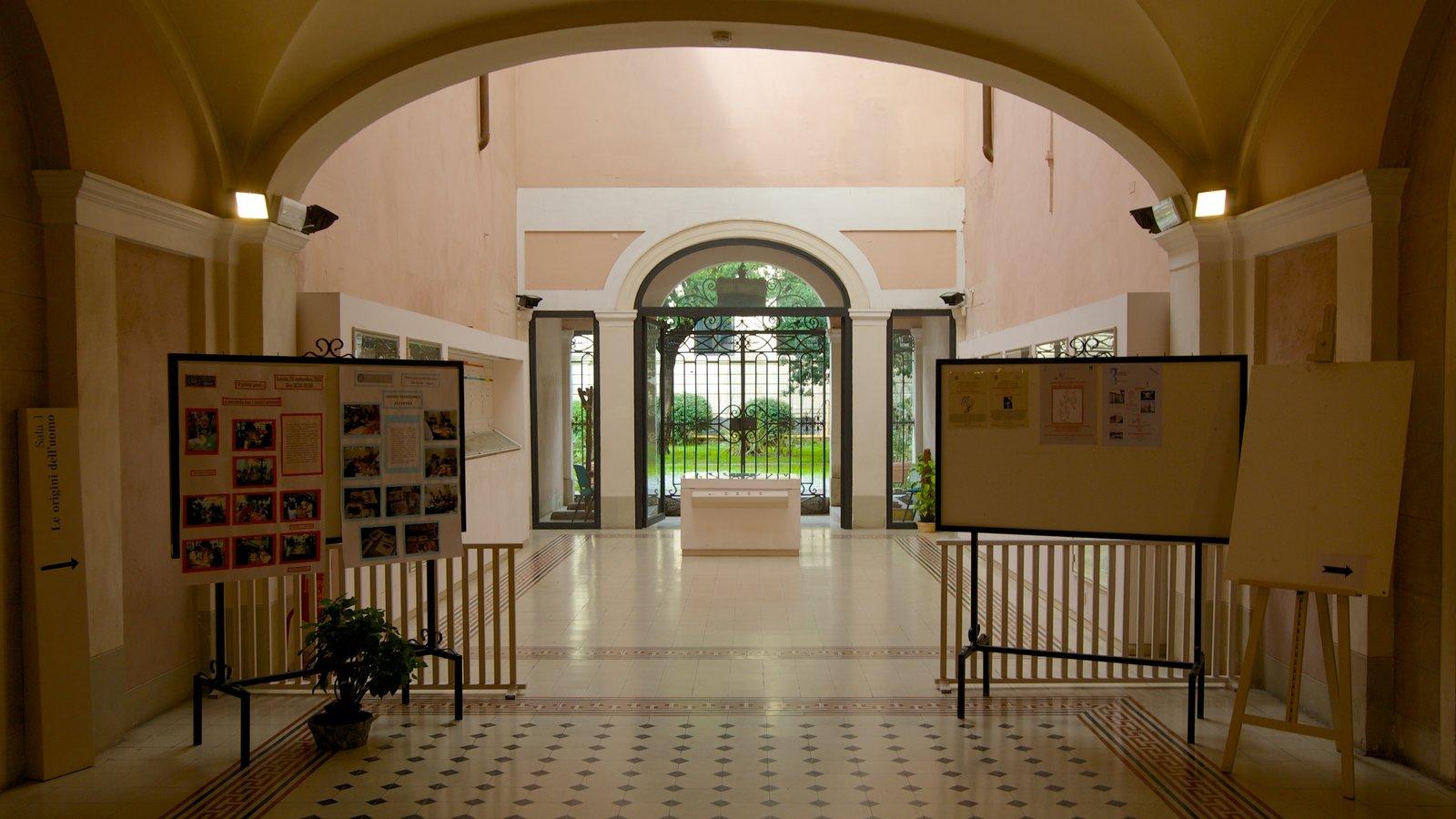 Villa Paolina showing interior views