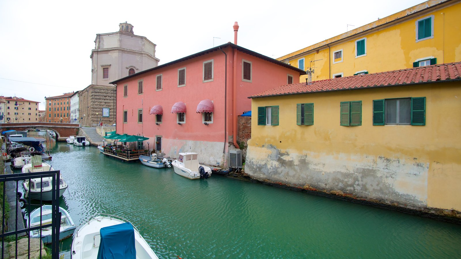 Chiesa di Santa Caterina which includes boating and a river or creek