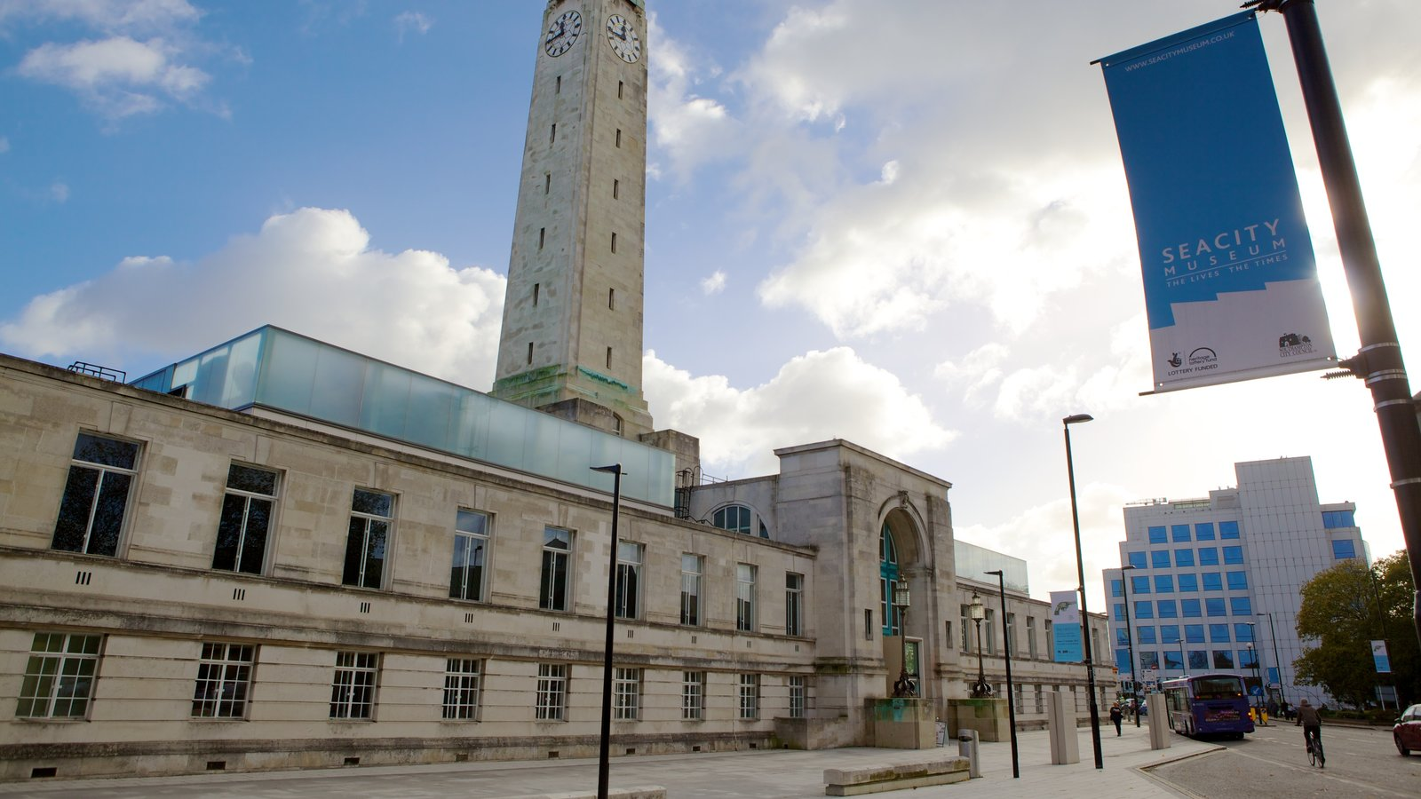 Southampton ofreciendo patrimonio de arquitectura