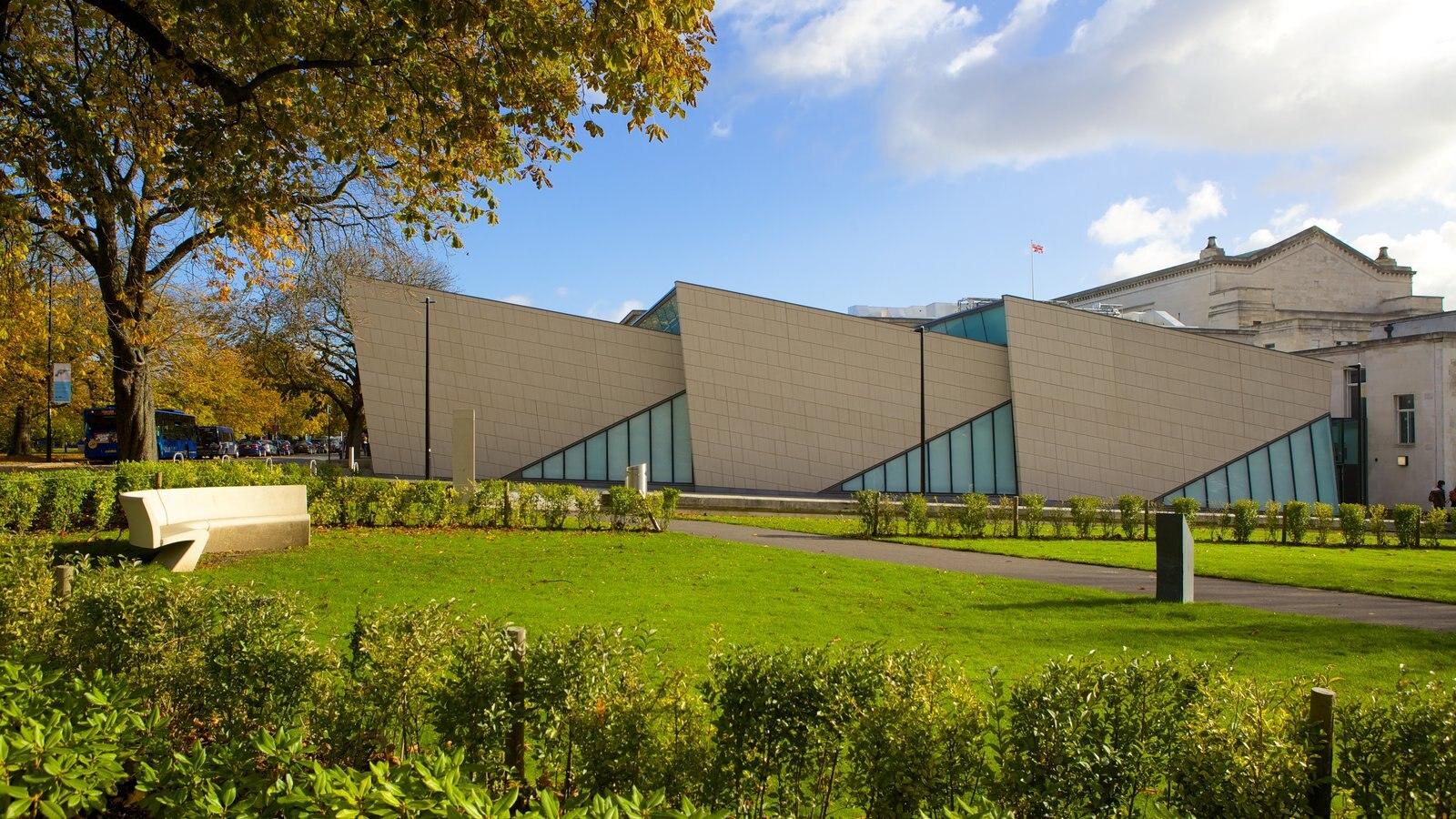 Museo SeaCity mostrando arquitectura moderna