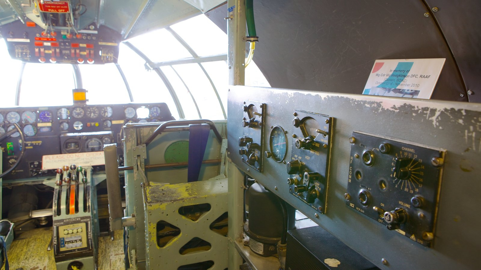 Solent Sky Museum which includes interior views and aircraft