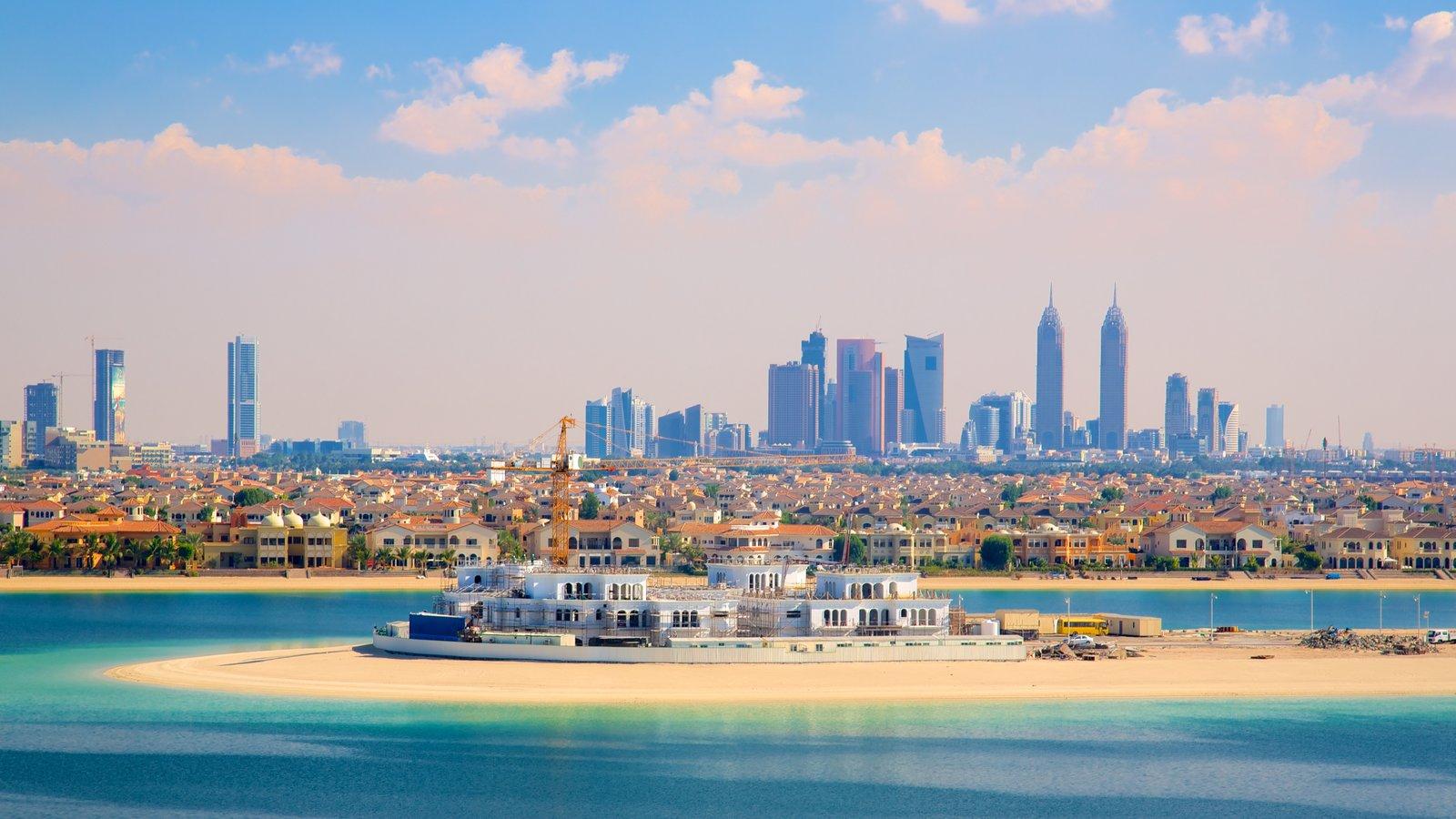 Aquaventure featuring general coastal views, skyline and a sandy beach
