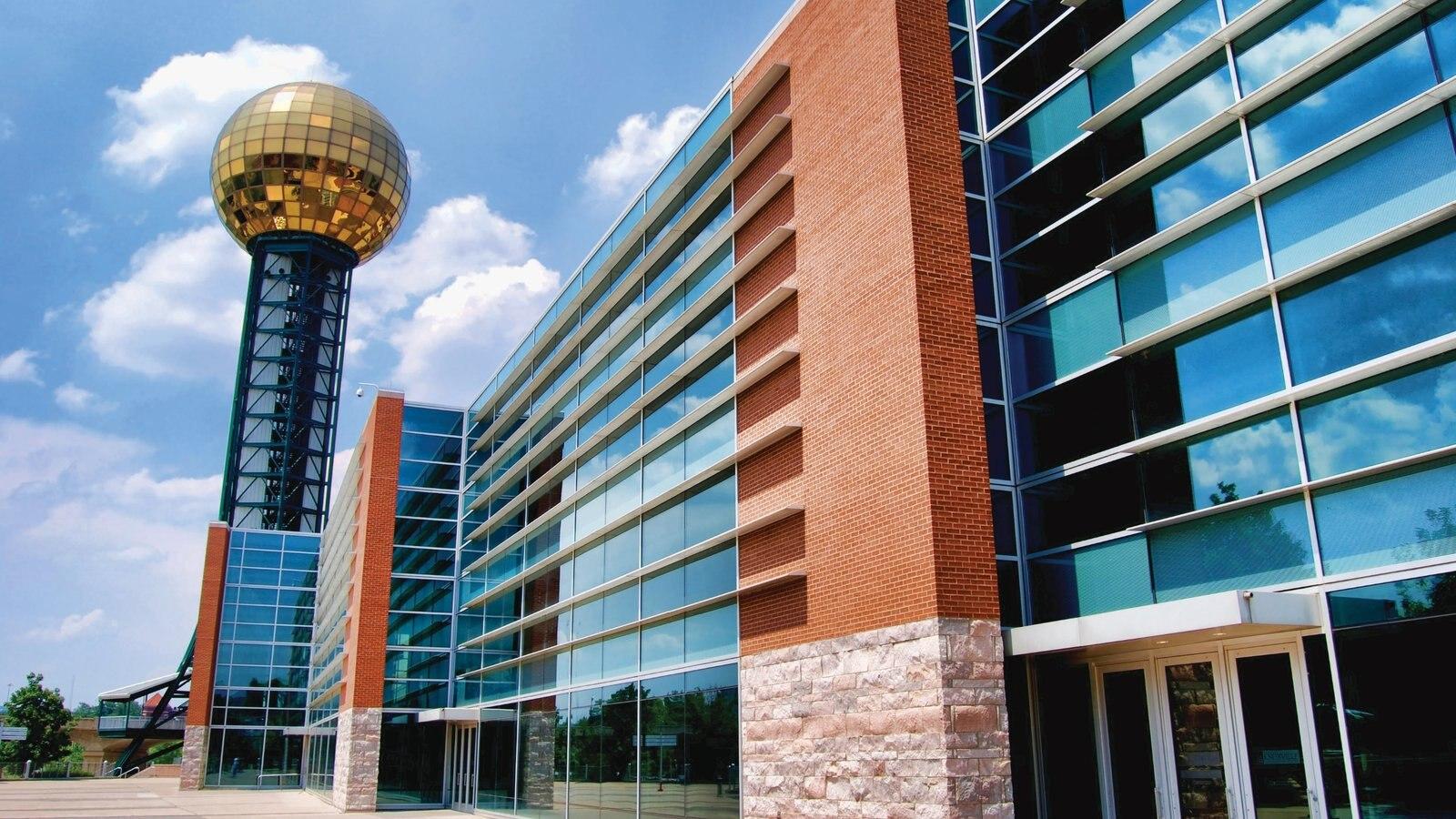 Knoxville caracterizando arquitetura moderna