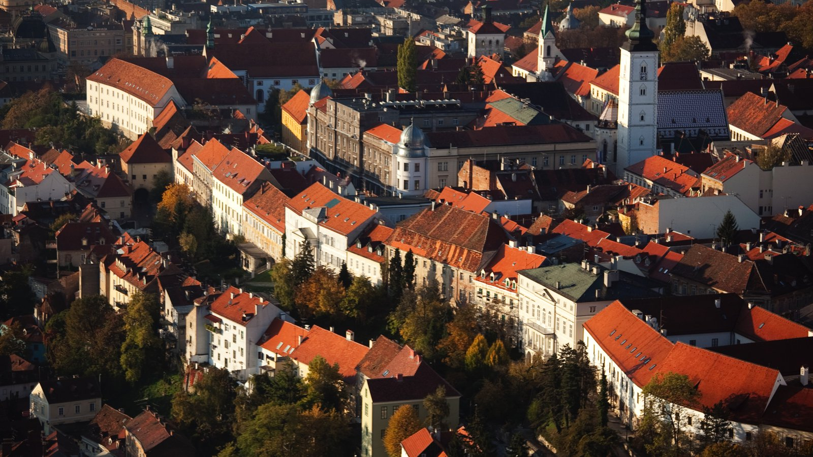 Zagreb County which includes a city