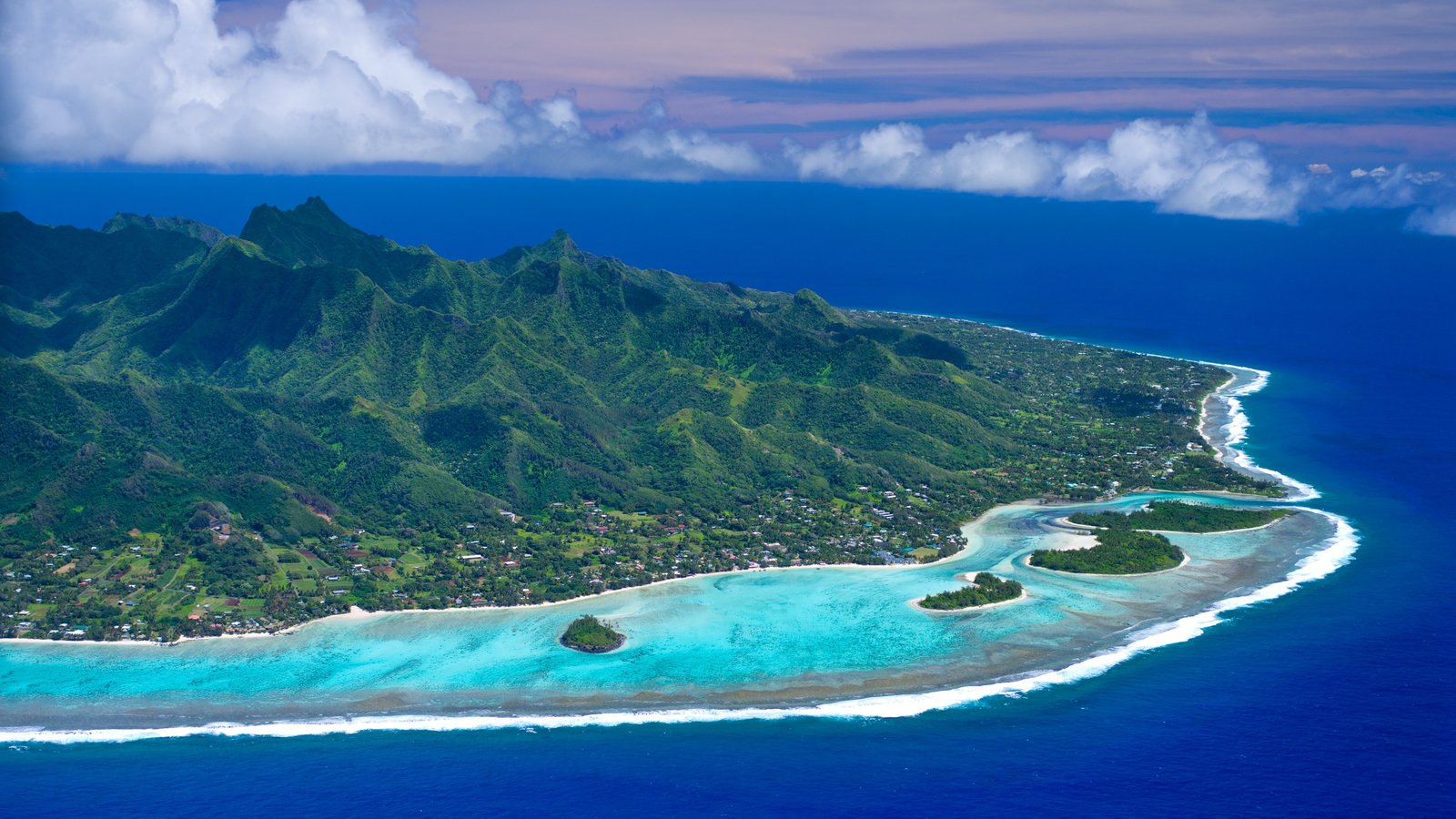 Landscape Pictures: View Images of Cook Islands