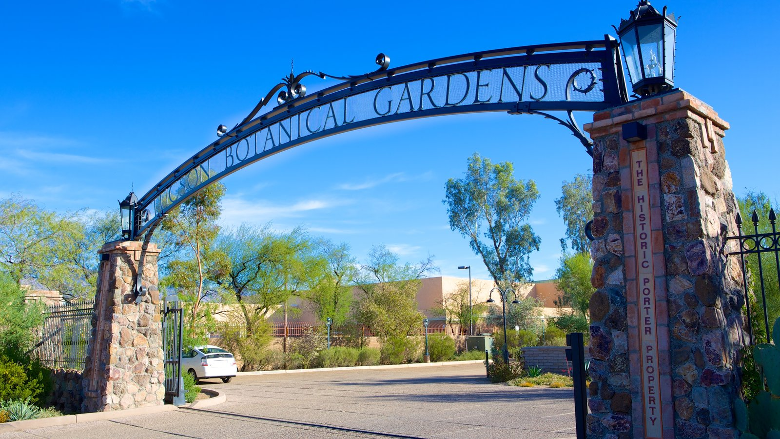 Tucson Botanical Gardens Featuring A Garden And Signage