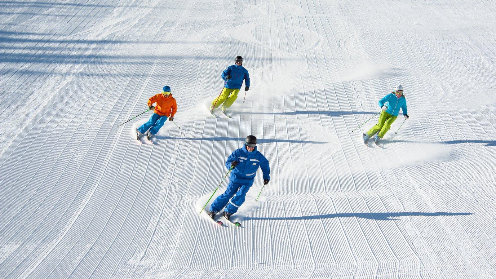 Vail - Beaver Creek que inclui neve e esqui na neve assim como um pequeno grupo de pessoas