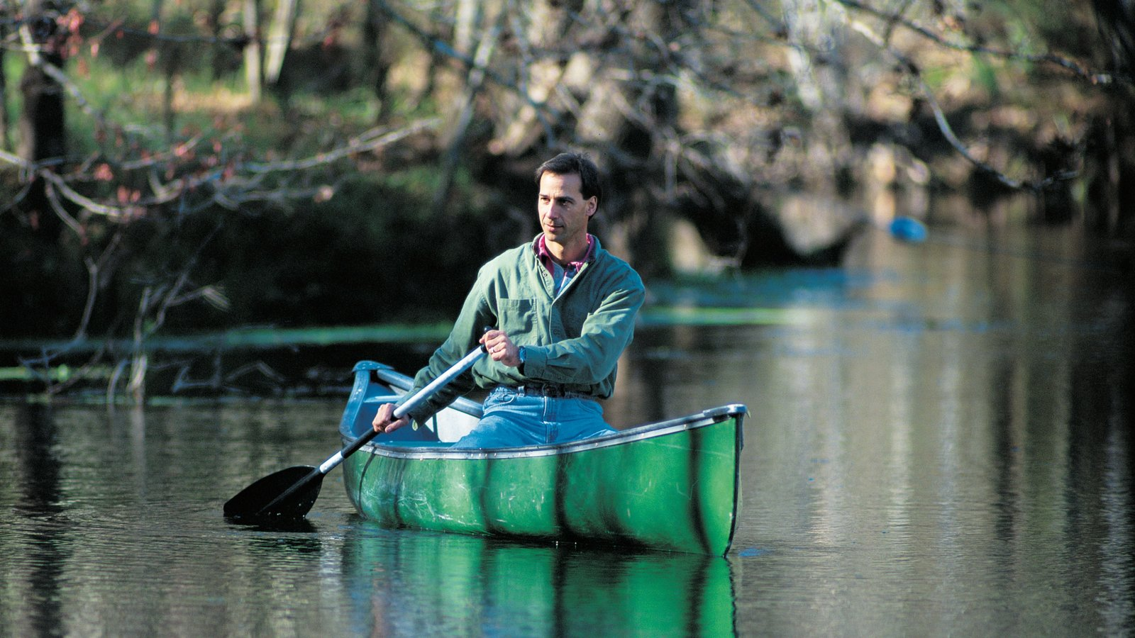 Gainesville which includes a river or creek and kayaking or canoeing as well as an individual male