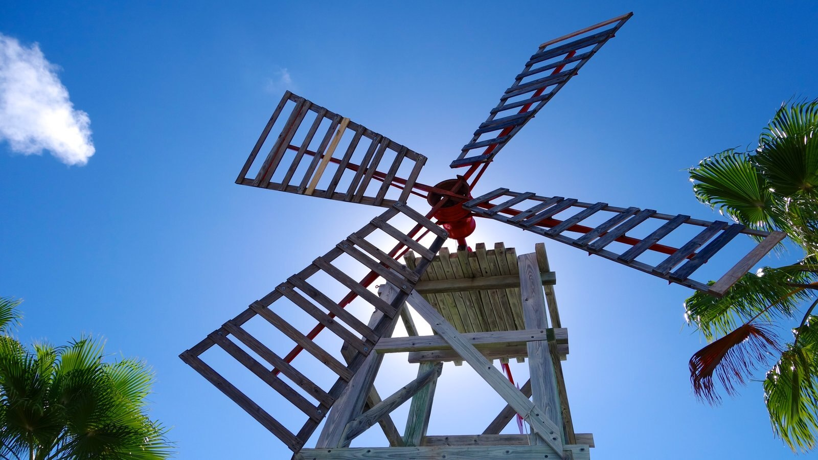 Providenciales which includes a windmill