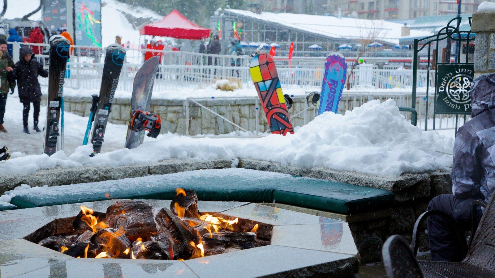 Whistler Ski Area featuring snow