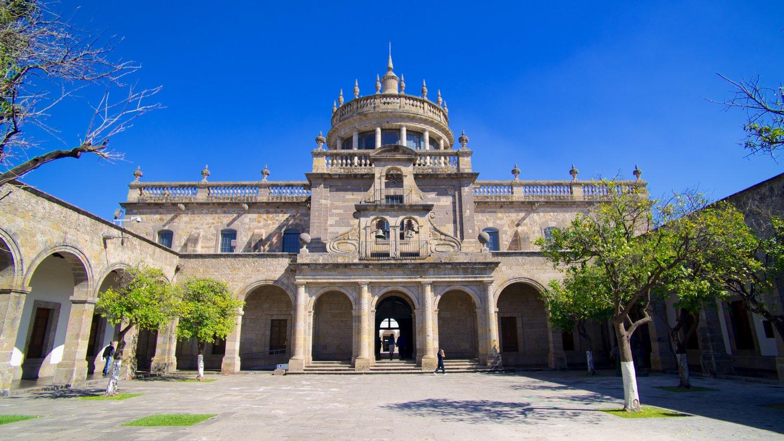 Fachada del Hospicio Cabañas en Guadalajara