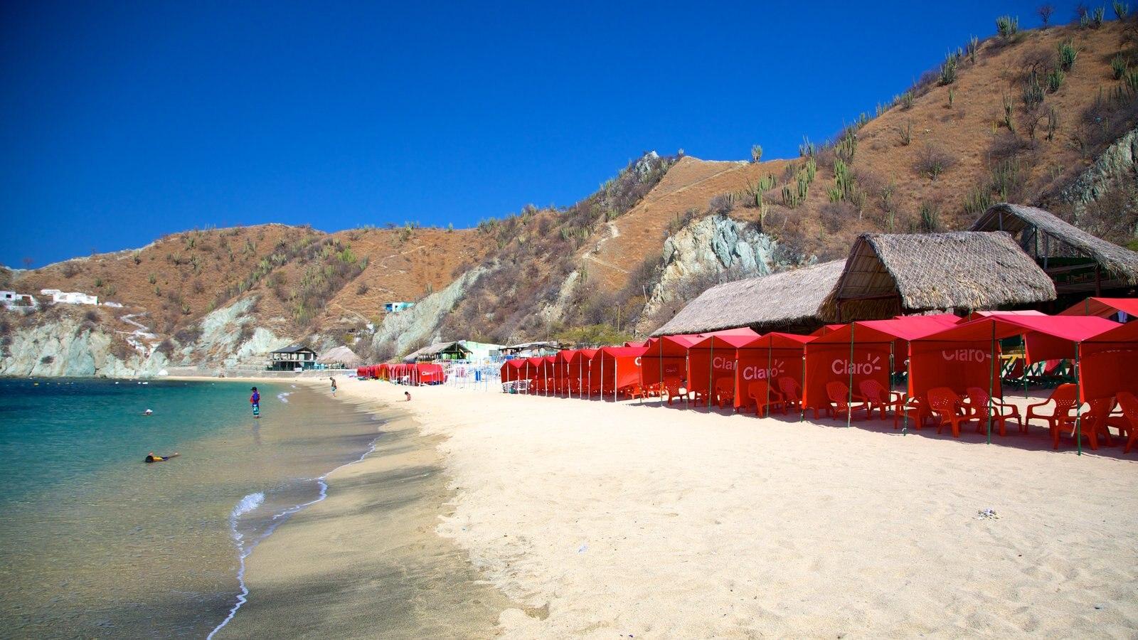 Blanca Beach which includes a beach