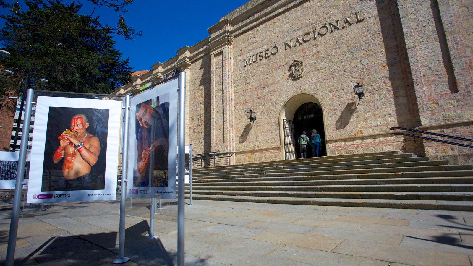 Museu Nacional caracterizando arte e elementos de patrimônio