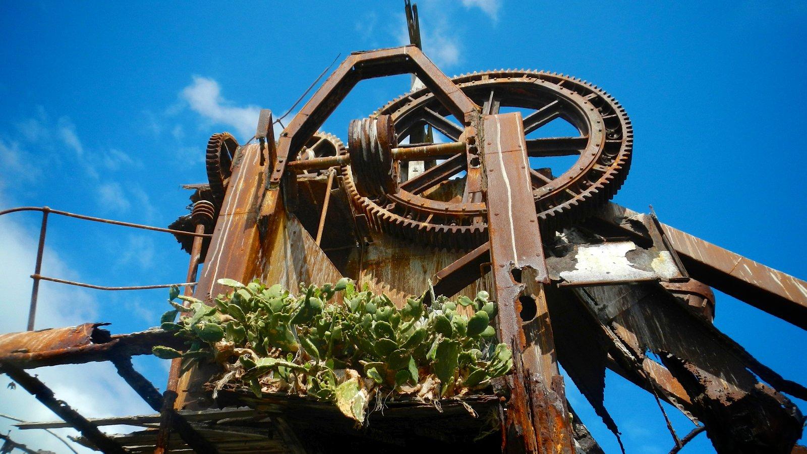 Parque nacional de Isla Moreton que incluye elementos del patrimonio y arte al aire libre