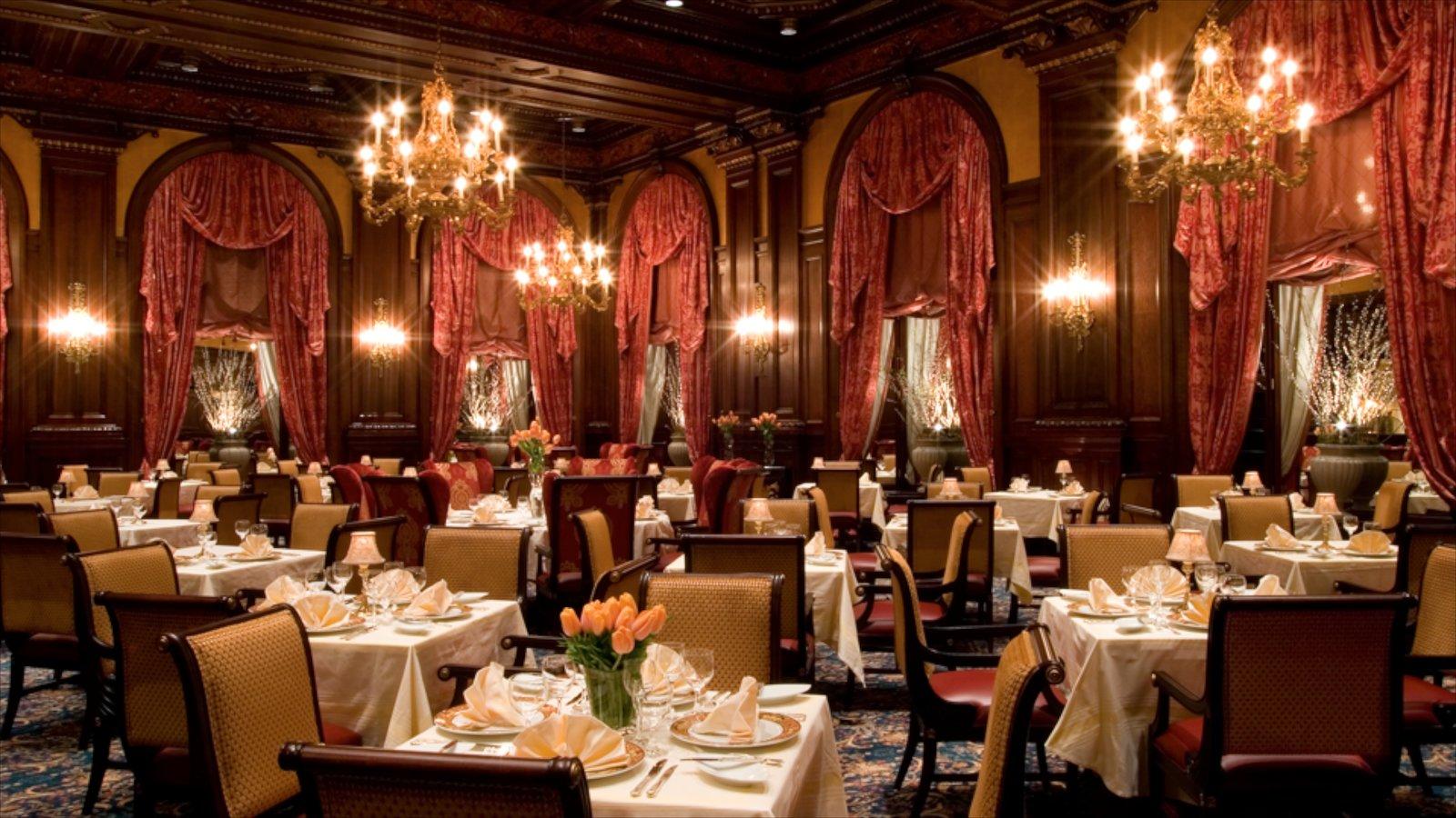 Wilmington que incluye un hotel, salir a cenar y vistas interiores