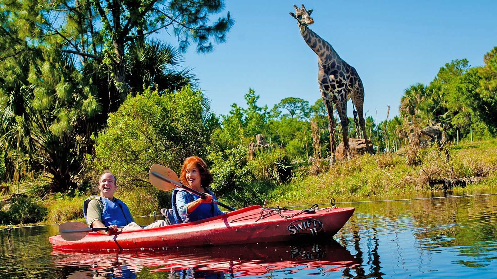 Space Coast which includes land animals, kayaking or canoeing and zoo animals