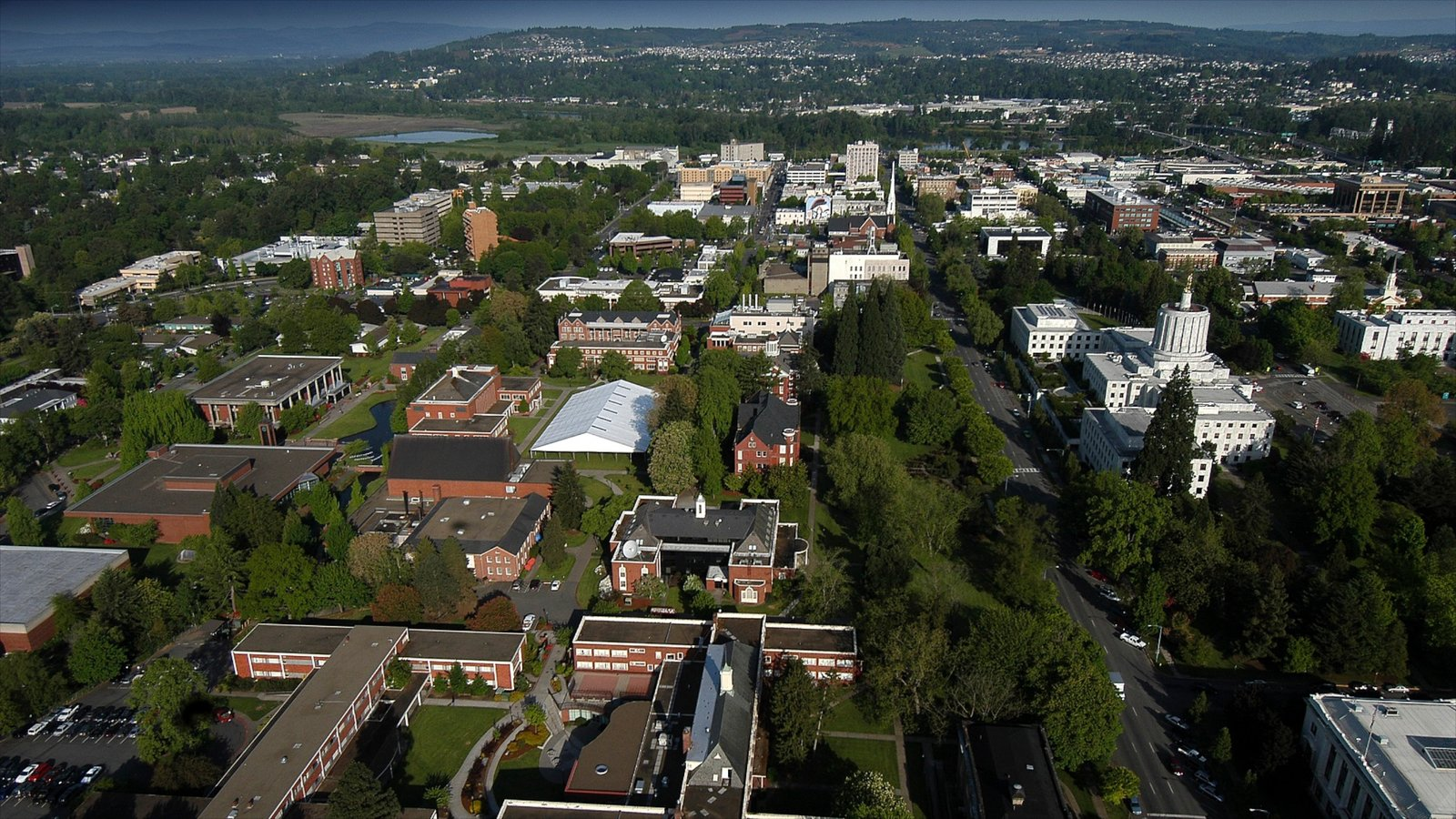Salem que incluye una ciudad
