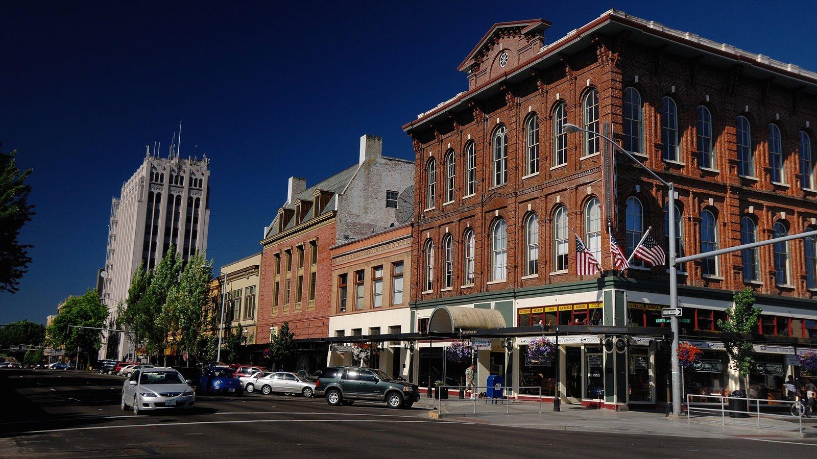 Salem que incluye escenas urbanas y una ciudad