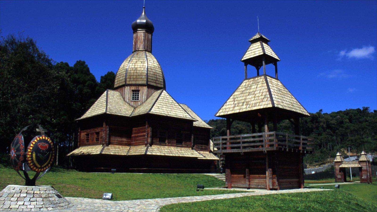 Curitiba caracterizando arquitetura de patrimônio