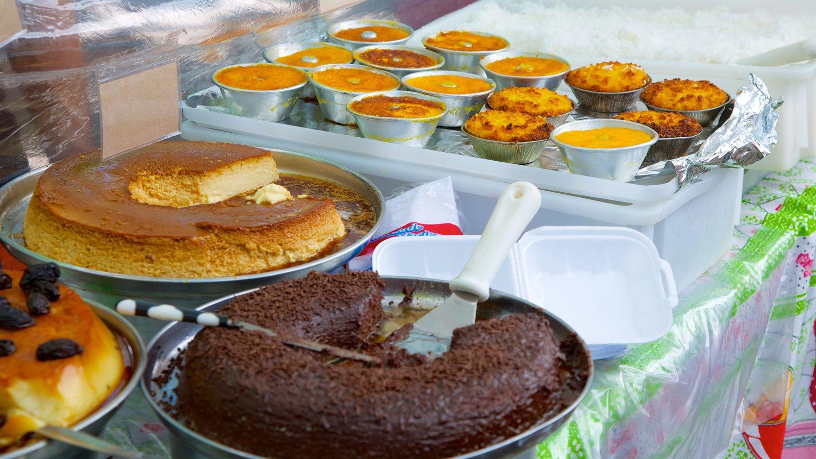 Ipanema caracterizando comida