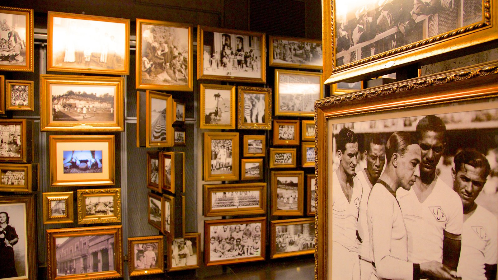 Museu do Futebol caracterizando vistas internas