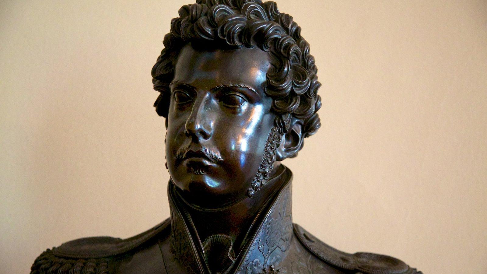 Museu Nacional de Belas Artes caracterizando uma estátua ou escultura