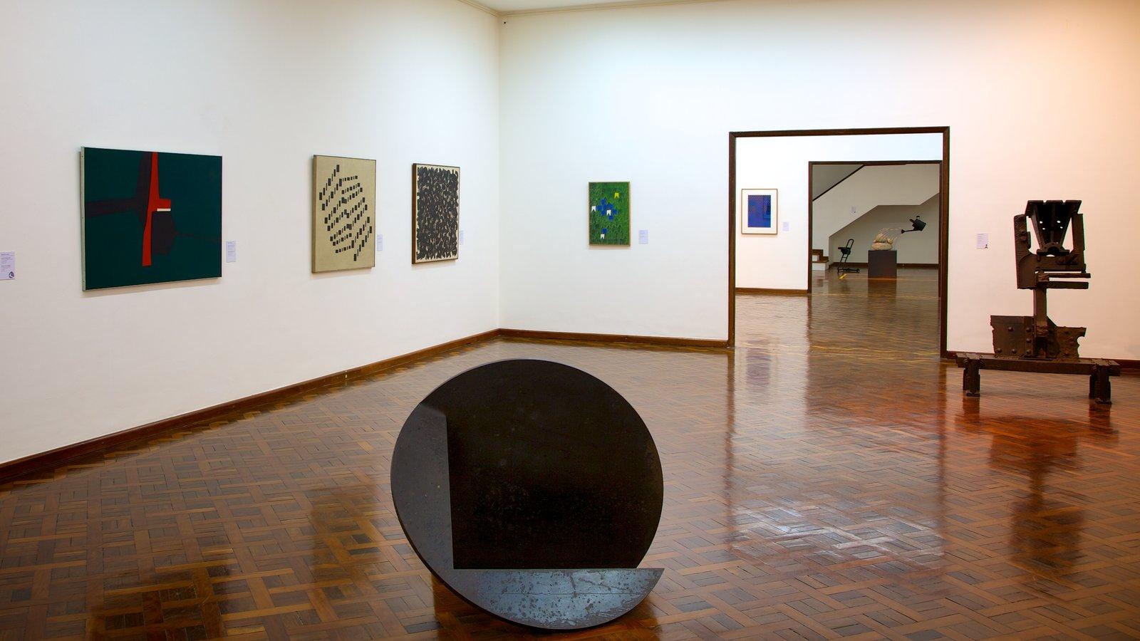 Museu Nacional de Belas Artes caracterizando arte e vistas internas