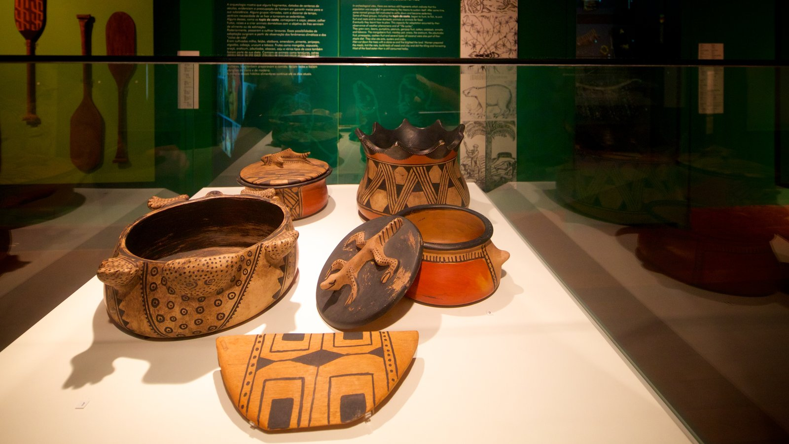 Museu Histórico Nacional que inclui vistas internas