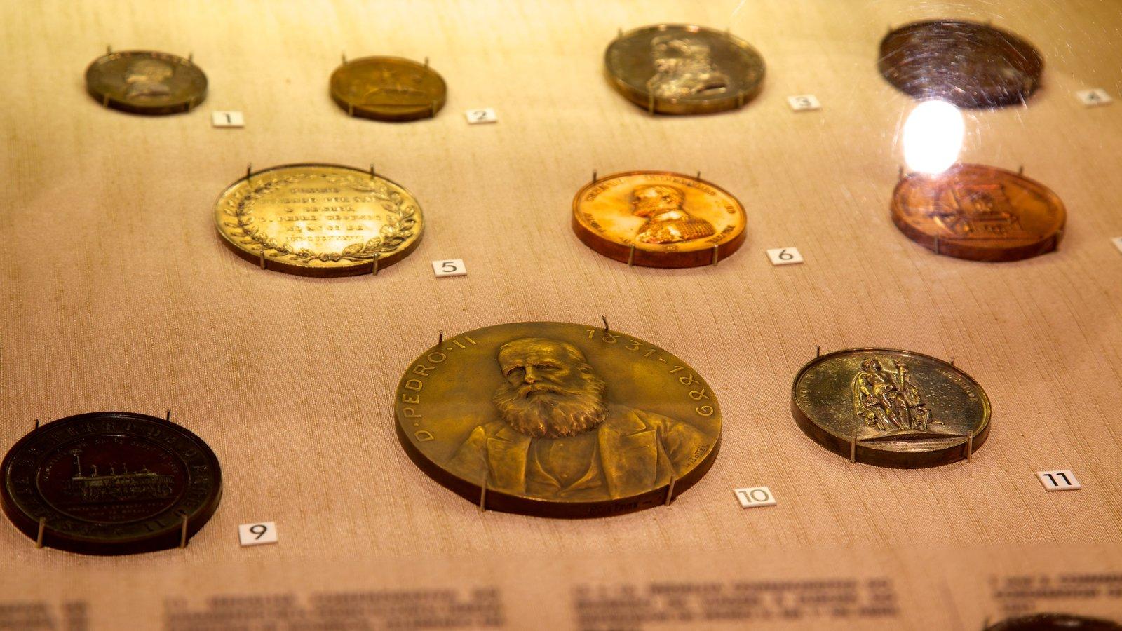 Museu Histórico Nacional caracterizando vistas internas