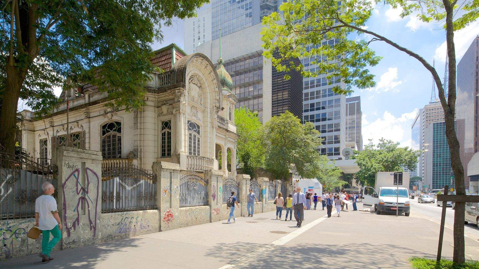 Avenida Paulista caracterizando arquitetura de patrimônio