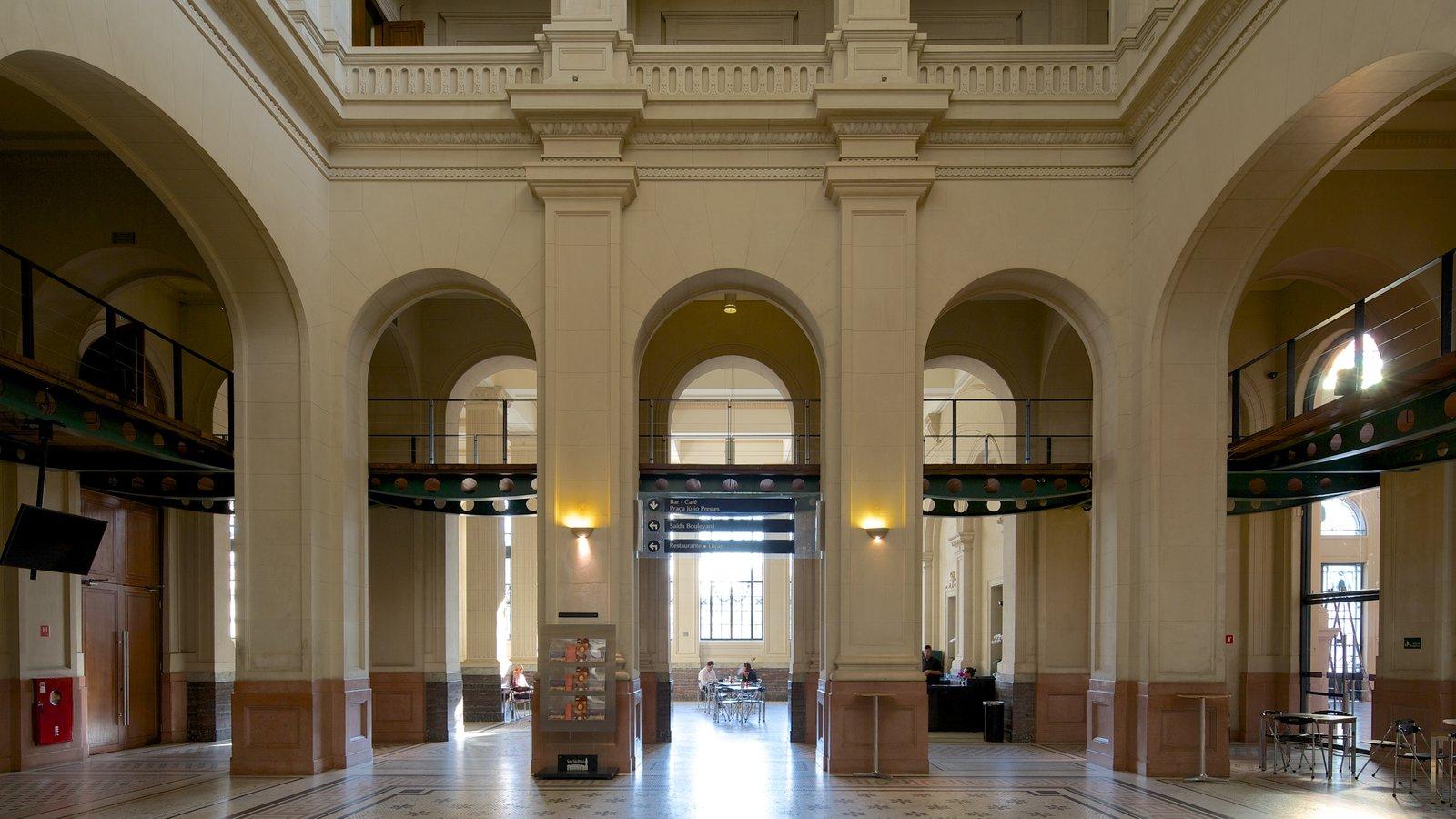 Sala São Paulo caracterizando vistas internas