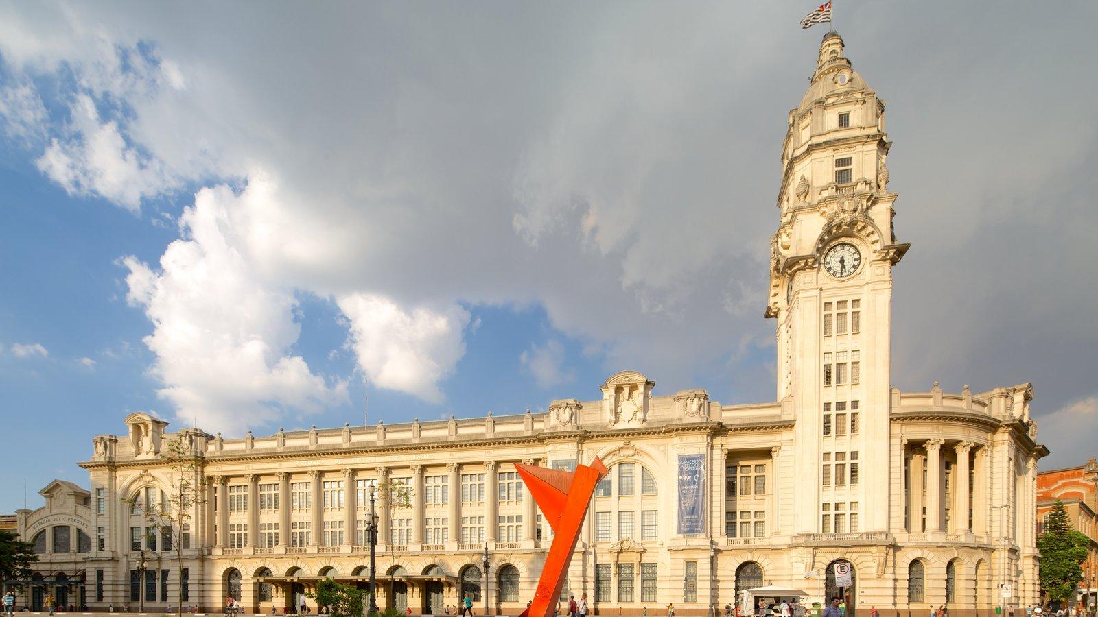 Sala São Paulo mostrando arquitetura de patrimônio