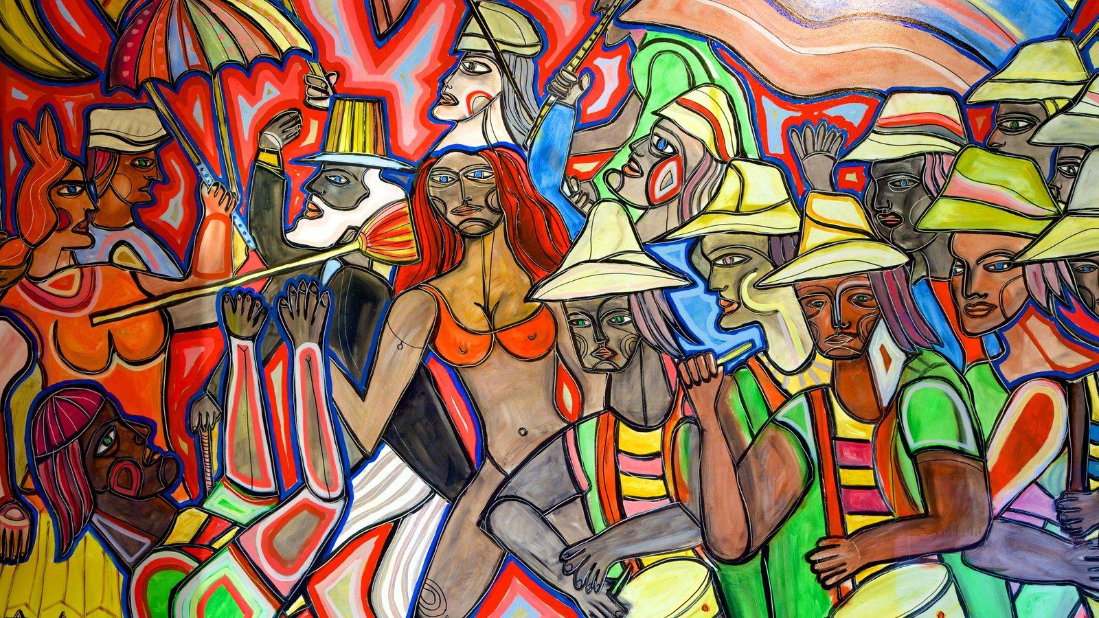 Montevidéu mostrando arte