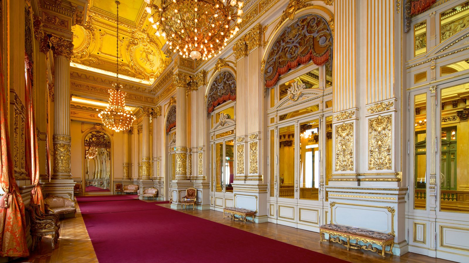 Teatro Colón que inclui cenas de teatro e vistas internas